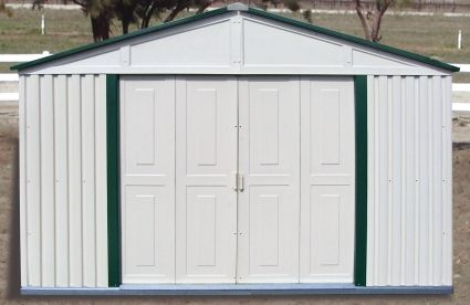 Duramax 10x8 Outdoor Teton Storage Shed With Foundation Duramax Sheds Vinyl Sheds Shed