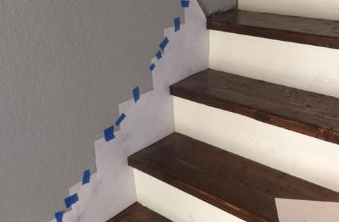How To Make A Skirt Board For Preexisting Stairs Board