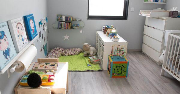 pourquoi parce que am nager la chambre de votre b b en une chambre montessori c est. Black Bedroom Furniture Sets. Home Design Ideas