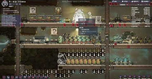 How To Make A Stable Base In Oxygen Not Included Video Oxygen Stables Gamer Life