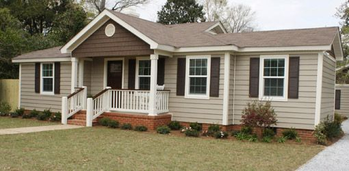 Tips For Painting Vinyl Siding Today S Homeowner Mobile Home Porch Mobile Home Exteriors Painting Vinyl Siding