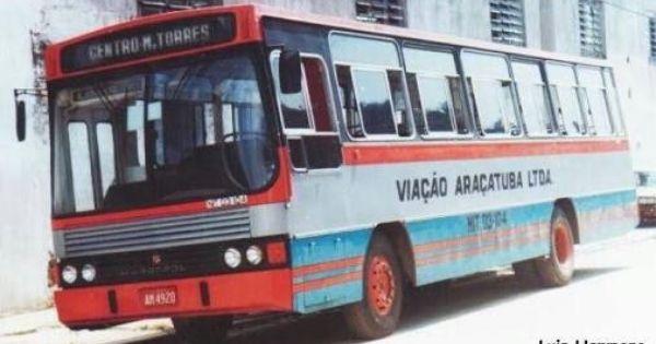 Viacao Aracatuba Niteroi Anos 80 Com Imagens Onibus Urbano
