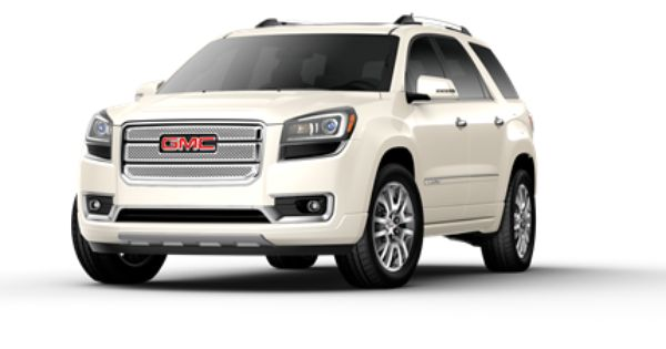 New 2013 Gmc Acadia Crossover Vehicle Gmc