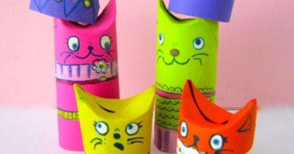 Manualidades con rollos de papel higi nico 41 - Manualidades con rollos de papel higienico para navidad ...