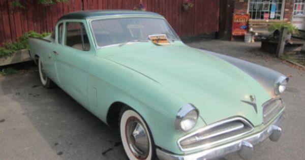 1953 Studebaker Commander Coupe Studebaker Cdr Classic Cars