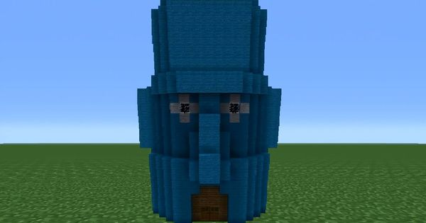 Minecraft Tutorial How To Make Squidwards House