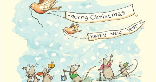 Merry Christmas Amp Happy New Year By Anita Jeram