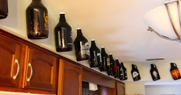 Growlers Display Storage Hot Off The Press Friday Pinterest Storage