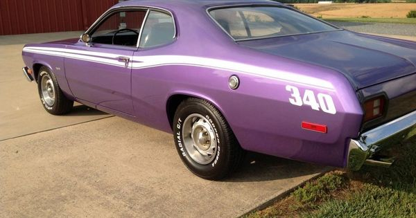 plum crazy mopar muscle car plymouth duster 340 4speed muscle car plum crazy purple. Black Bedroom Furniture Sets. Home Design Ideas