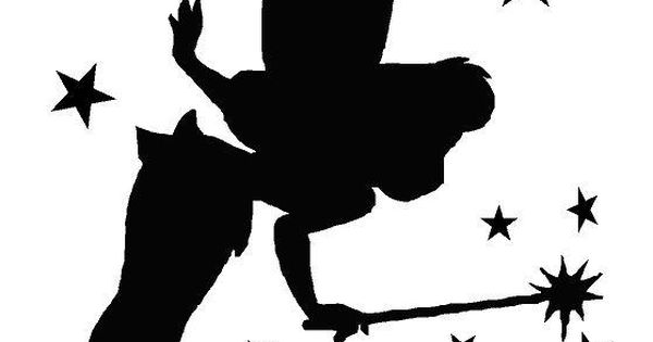 Tinkerbell stencil google search silhouettes for Tinkerbell pumpkin template free