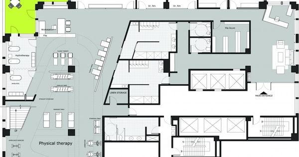 Pictures manhattan physical therapy center lower level for Physical therapy office layout