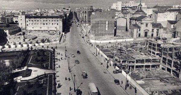 Calle princesa en 1948 madrid - Calle princesa barcelona ...