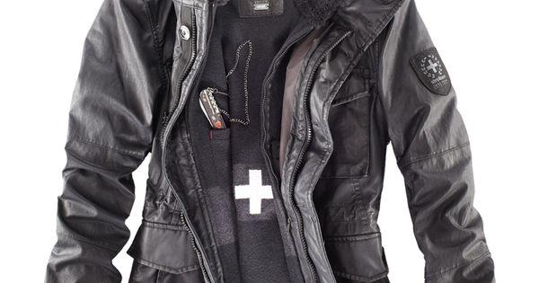 strellson swiss cross revival jacket men 39 s fall. Black Bedroom Furniture Sets. Home Design Ideas
