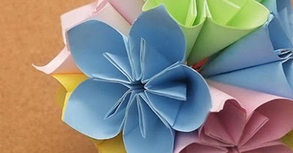 5 Langkah Cara Membuat Bunga Dari Kertas Karton Mudah Crafts Paper Flowers Art And Hobby