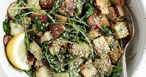 Potato salad, Basil pesto and The o'jays on Pinterest