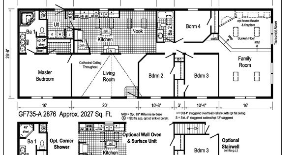 Richland ranch gf735a midwest homes products i love for Midwest living house plans
