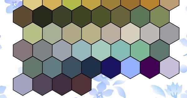 art nouveau colour palette by dimitri cosmos davvvr. Black Bedroom Furniture Sets. Home Design Ideas