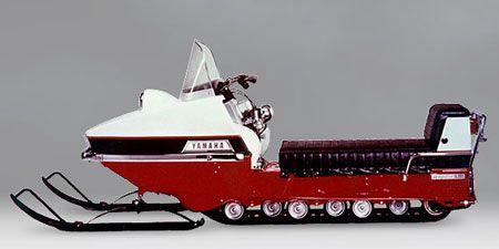 1986 Yamaha Inviter Vintage Review Vintage Sled Yamaha Snowmobile
