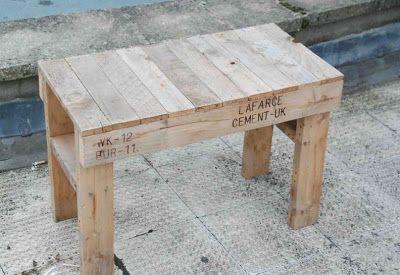 Pallet Table And Chair Caballete De Madera Mesas De Madera Mesas Y Sillas Infantiles