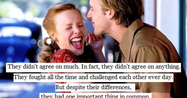 The Notebook. Never gets old.