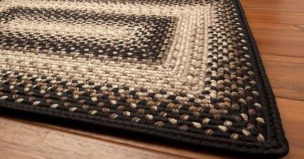 Amish Braided Rugs Homespice Decor Ultra Durable Indoor