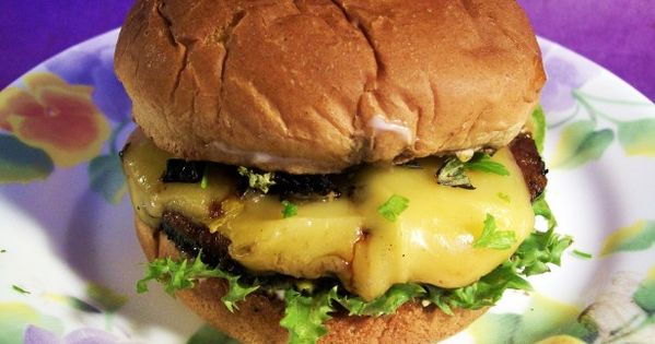 ... and Basil   Recipe   Portabella burger, Dried tomatoes and Burgers