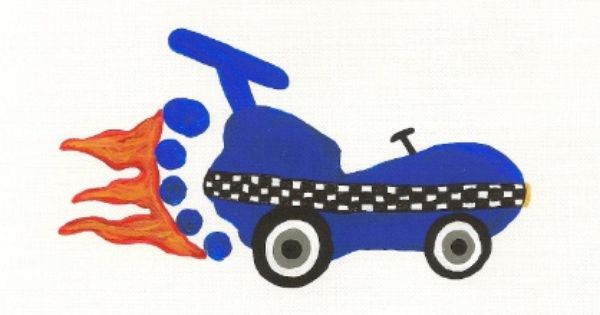 footprint racecar