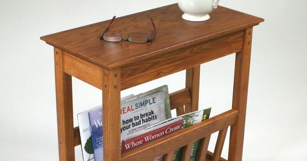 Small Side Table With Magazine Rack The Simple But Very
