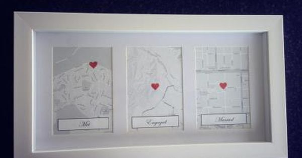 1st Wedding Anniversary Gift Paper: Love This Idea For 1st Wedding Anniversary Present! Met
