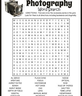 Word Search Puzzle 10x15 FT Backdrop Photographers,Unified Modeling Language Word Puzzle with Highlighted Keywords Background for Photography Kids Adult Photo Booth Video Shoot Vinyl Studio Props