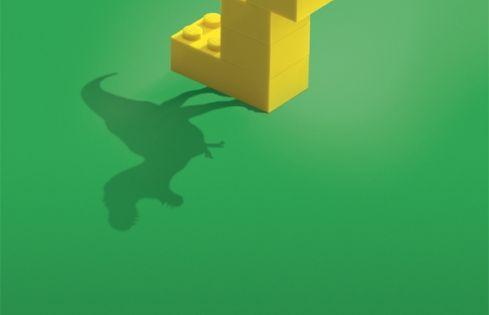25 propagandas criativas da lego lego cannes lion and graphics. Black Bedroom Furniture Sets. Home Design Ideas
