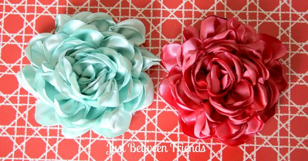 Hair Bow Making Supplies | Fancy Flowers Tutorial | Just Between FriendsJust