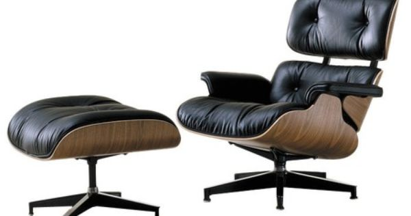 Classic Herman miller eames chair and ottoman