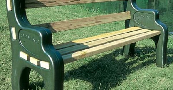Park Bench Kit Comfortable And Maintenance Free Our Park Bench Kit Offers You The