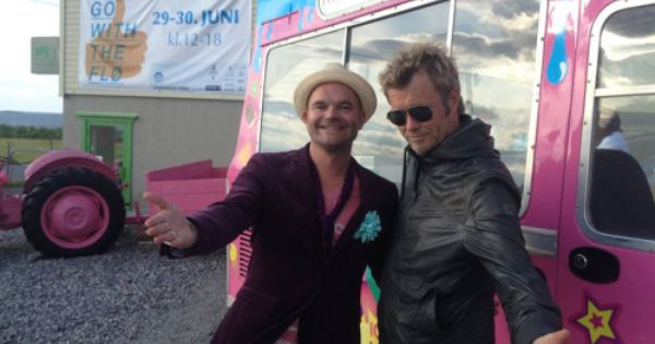 Hugo Opdal And Magne Furuholmen Moods Of Norway Ice Cream Van