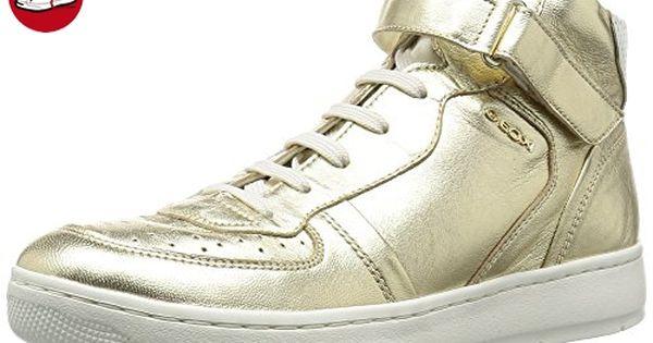 D Ophira B, Damen Sneakers, Silber (Silver/LT GREYC0898), 38 EU Geox