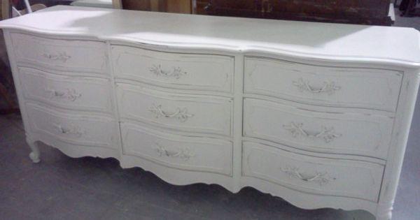 Painted Furniture Vintage French Provincial Dresser