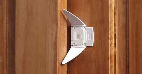 Set Of 2 Sliding Closet Door Lock Baby Child Proof Safety Home Easy Kids Locks Sliding Closet Doors Door Locks Closet Doors
