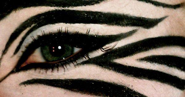 Zebra, or white tiger Halloween
