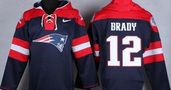 Tom Brady 12 New England Patriots Pullover Hoodie By Nike New England Patriots New England Patriots Logo England Patriots
