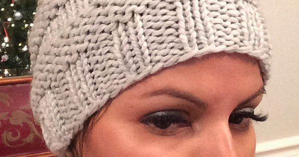 Free Knitting Pattern for Messy Bun Hat - This ponytail ...