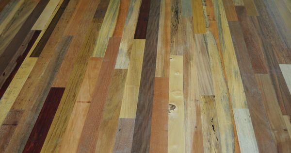 Hardwood floors detail of reclaimed mixed exotic for Hardwood floors 60 minutes