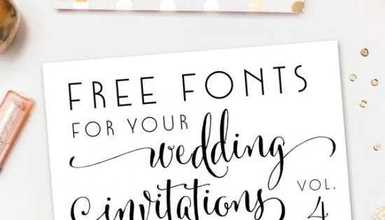 Free Wedding Invitation Fonts: If You Are Tackling Your Own Wedding Invitations Or Save