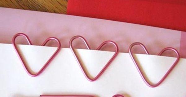 - DIY HeartShaped paper clips tutorial ❤