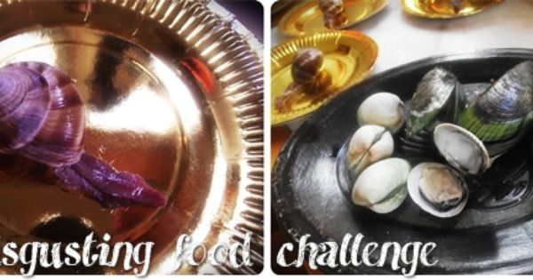What are some fun ideas for food challenges?