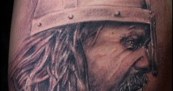 Viking tattoo on shoulder tats pinterest viking for Tattoo shops anderson indiana