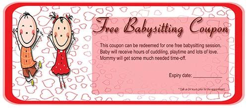 20 Free Babysitting Coupon Templates To Skyrocket Your Child Care