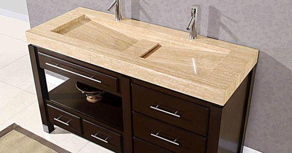Double faucet trough sink bath remodel ideas Pinterest Trough ...