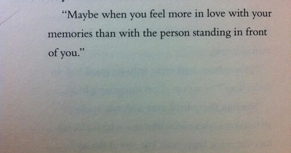 "Truth via Evey's tumbler: ""How do you know when it's over?"" ""Maybe"