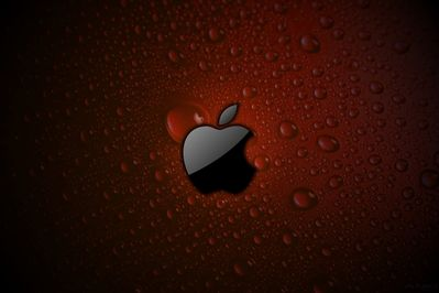 Red Apple Logo Bing Images Black Apple Logo Apple Wallpaper Iphone Apple Watch Wallpaper